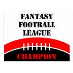 Fantasy Football Postcard