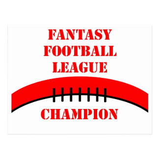 Fantasy Football Postcard