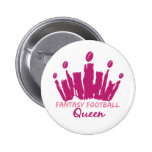 Fantasy Football Queen Button