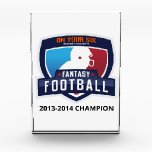 """Fantasy Football Trophy Award<br><div class=""""desc"""">You have to win for this one.</div>"""