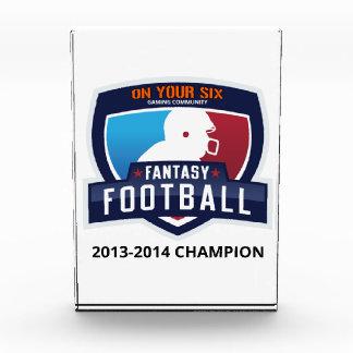 Fantasy Football Trophy Award