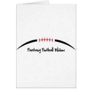 Fantasy Football Widow Card