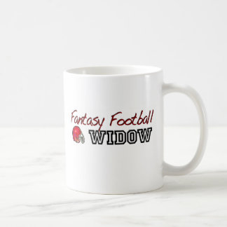 Fantasy Football Widow Coffee Mug