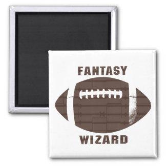 Fantasy Football Wizard Magnet