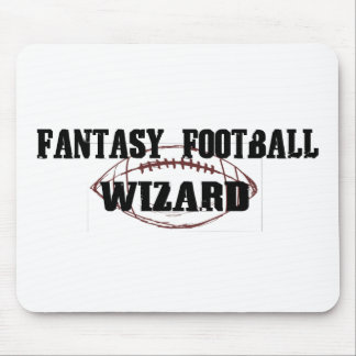 Fantasy Football Wizard Mouse Pads