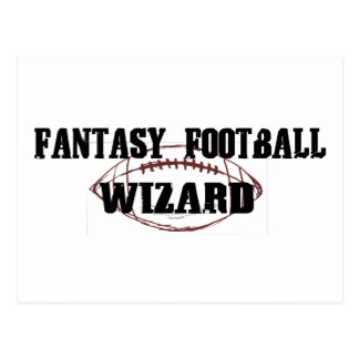 Fantasy Football Wizard Postcard