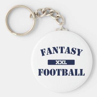 Fantasy Football XXL Basic Round Button Keychain