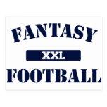 Fantasy Football XXL Postcard