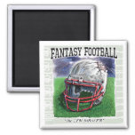 Fantasy Football Zen Master Gear Magnet
