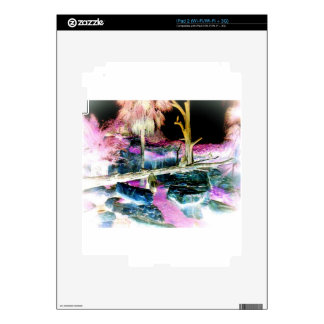 Fantasy Forest Ape Photo Skin For The iPad 2