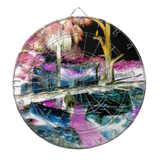 Fantasy Forest Apes Dartboard With Darts
