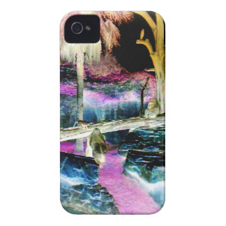 Fantasy Forest Apes iPhone 4 Cases