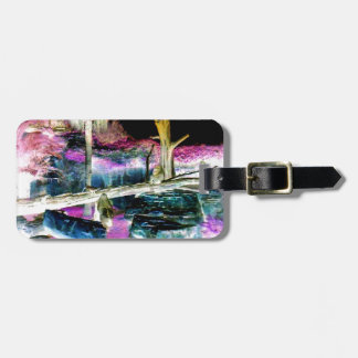 Fantasy Forest Apes Luggage Tag