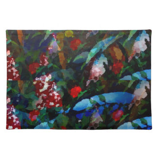 fantasy forest art placemat cloth placemat