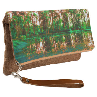 Fantasy Forest by Shirley Taylor Clutch