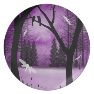 Fantasy Forest Collector Plate