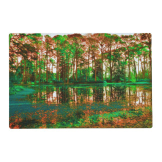Fantasy Forest Laminated Place Mat