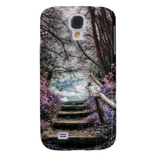 Fantasy Forest Steps Galaxy S4 Cover