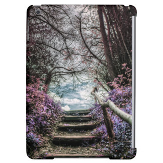 Fantasy Forest Steps iPad Air Cases