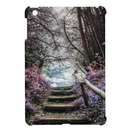 Fantasy Forest Steps iPad Mini Cases