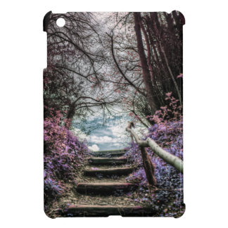 Fantasy Forest Steps iPad Mini Cover