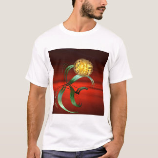 fantasy fractal on the red T-Shirt