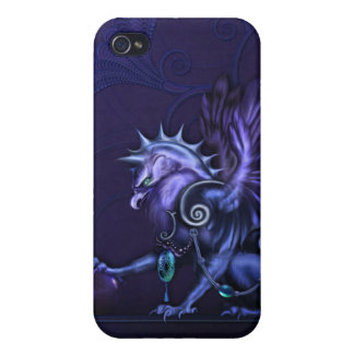 Fantasy Gargoyle iPhone 4 Covers