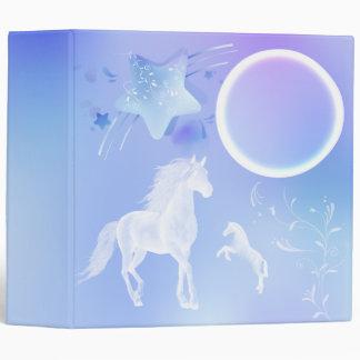 Fantasy Ghost Horses Binder