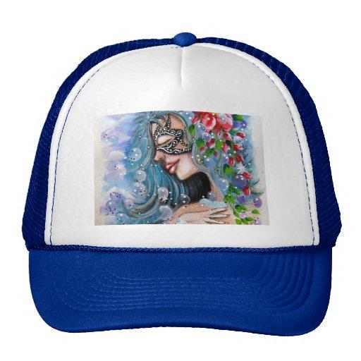 Fantasy Girl Blue Designs Trucker Hat