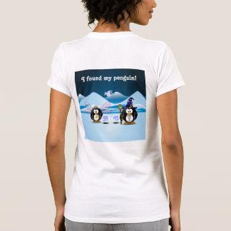 Fantasy Glacier Penguins Wizard Fairy Crystal Ball Shirt