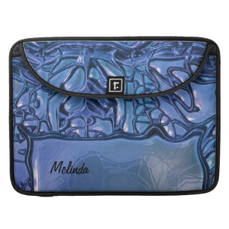 Fantasy Glass Blue 1 Sleeves For MacBook Pro