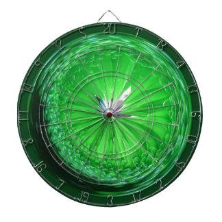 Fantasy glass orb in green. dartboards