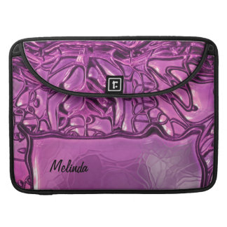 Fantasy Glass Pink 1 Sleeve For MacBook Pro