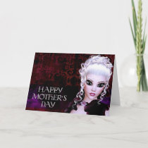 Fantasy Gothic Dark Mother's Day Card