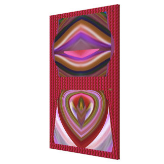 FANTASY Graphics  Tungue Twister Gifts Romantic Gallery Wrapped Canvas