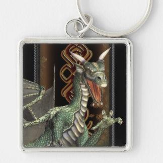 Fantasy Green Dragon Premium Keychains