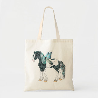 Fantasy Gypsy Vanner Horse Fairy Tote Bag