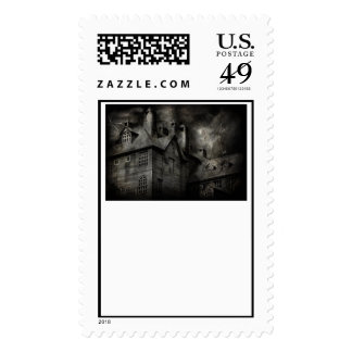 Fantasy - Haunted - It was a dark and stormy night Stamp