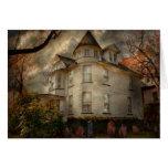 Fantasy - Haunted - The Caretakers House Card