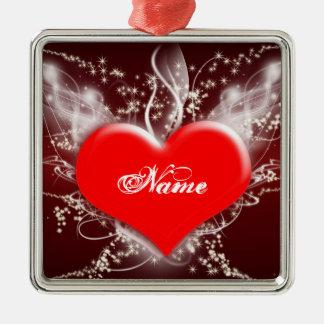 """Fantasy Heart"" Ornament"