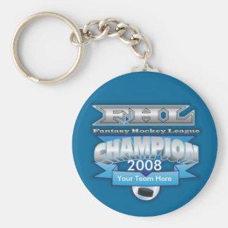 Fantasy Hockey Champ Key Chains