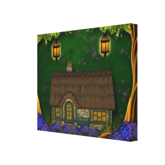 Fantasy Home Wrapped Canvas Stretched Canvas Prints