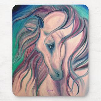 Fantasy Horse, Art by Leni Mouse Pad