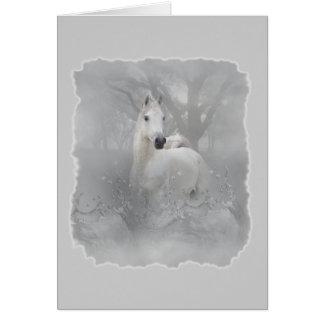 Fantasy Horse Card