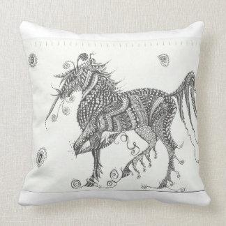 fantasy horse design cushion