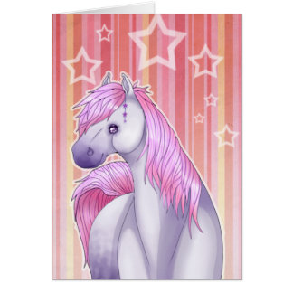 Fantasy Horse Giftcard Card
