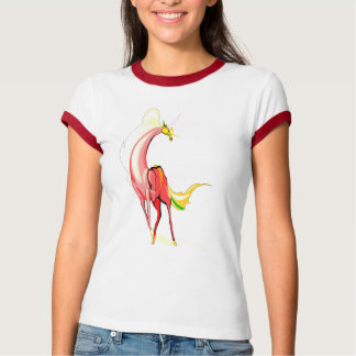 Fantasy Horse in Red T-Shirt