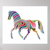Fantasy Horse Poster