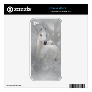 Fantasy Horse Skin For The iPhone 4S