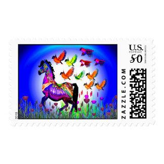 Fantasy Horse USPS Stamp  #1